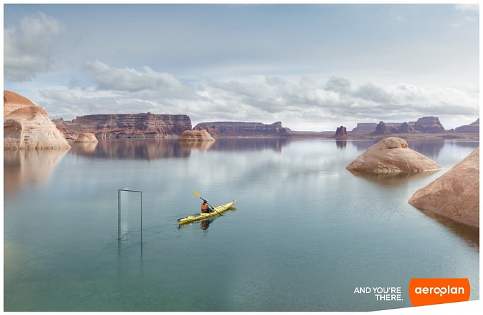 Andric | Aeroplan Lake Powell
