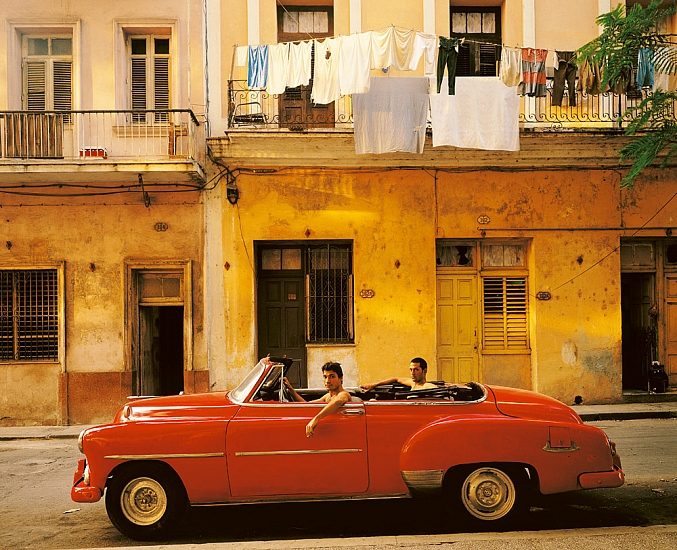 Andy Glass | Cuban Red Car