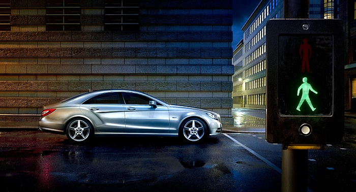 Andy Glass | Mercedes CLS