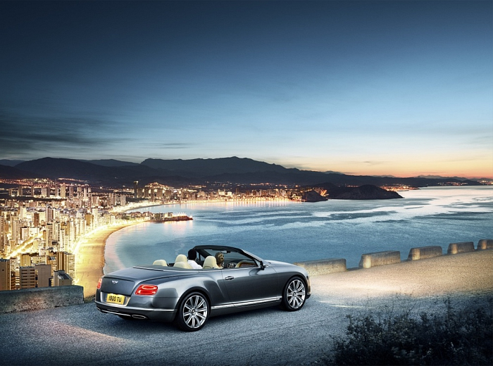 Graham Thorp | Bentley GTC 1