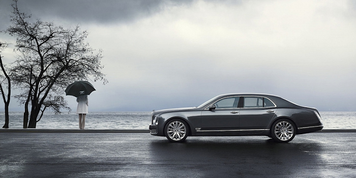 Graham Thorp | Mulsanne umbrlla
